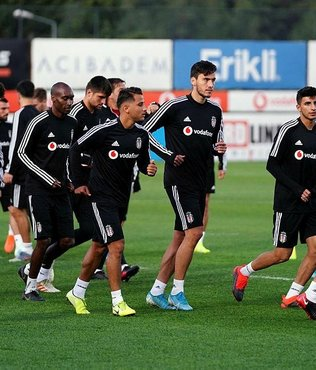 Beşiktaş Braga hazırlıklarını tamamladı