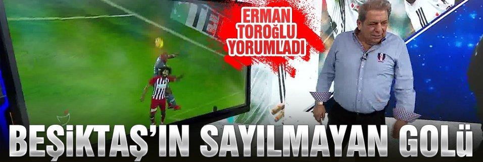 Kritik pozisyonu Erman Toroğlu yorumladı!