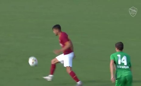 Cengiz Ünder'in hazırlık maçında attığı gol