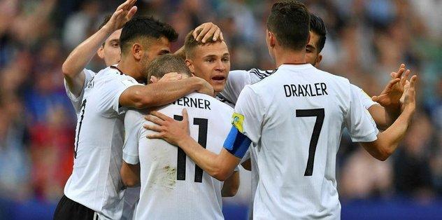 Almanya ve Şili yarı finale yükseldi