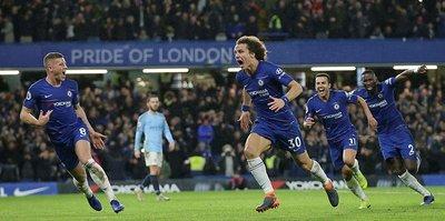 Chelsea, City'yi liderlikten etti