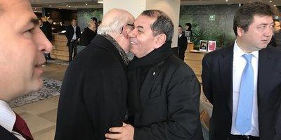 Özbek, UEFA Başkanı ile bir araya geldi