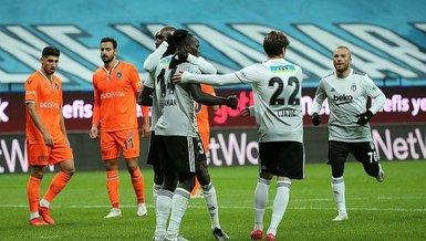 Beşiktaş Başakşehir karşısındaki 5 yıllık hasrete son verdi