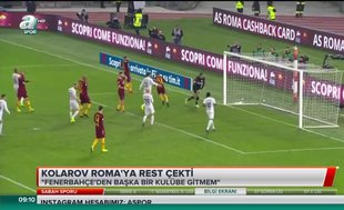 Kolarov'dan Roma'ya rest