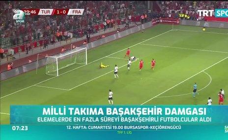 Milli takıma Başakşehir damgası