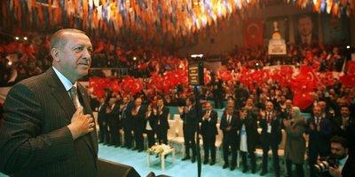 Erdoğan tebrik etti