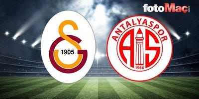 CANLI | Galatasaray - Antalyaspor