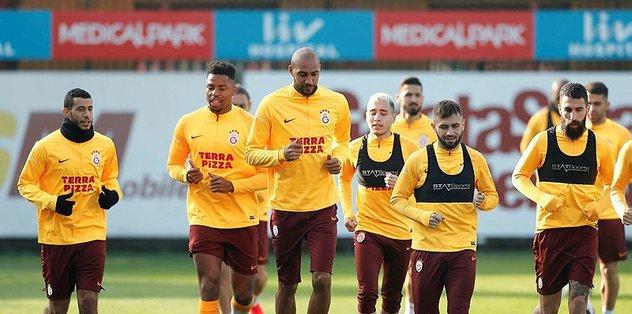 Galatasaray PSG maçı hazırlıklarını sürdürdü