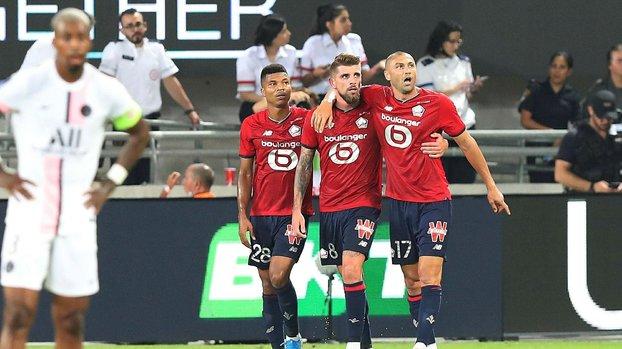 Lille PSG maçında Burak Yılmaz'dan asist!