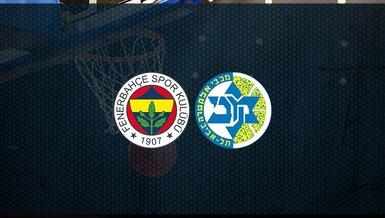 Fenerbahçe Beko - Maccabi Tel Aviv maçı ne zaman, saat kaçta ve hangi kanalda canlı yayınlanacak? | THY Euroleague