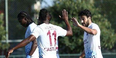Trabzonspor hazırlık maçında coştu!