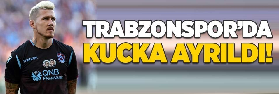 Yıldız futbolcu Trabzonspor'dan ayrılıyor!