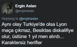 UEFA'nın Beşiktaş kararına büyük tepki