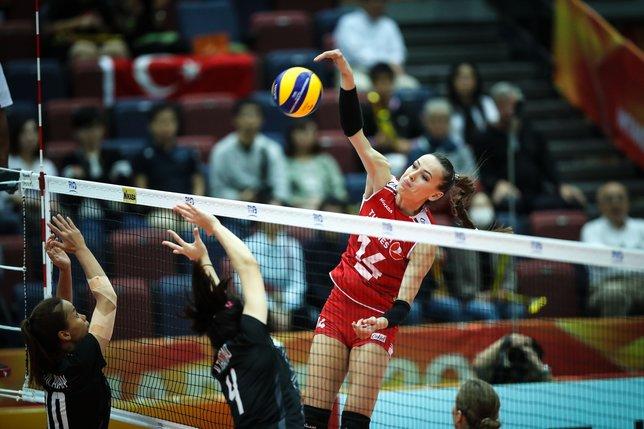 A Bayan Milli Takımımız, Dünya Şampiyonası'nda Tayland'ı 3-1 Mağlup Etti