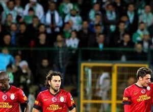 Galatasaray:1 Bursaspor:1