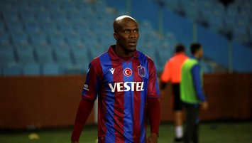 Anthony Nwakaeme Trabzonspor Fenerbahçe maçına hazırlanıyor!