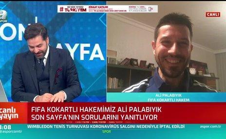 Ali Palabıyık: Evde kalmak maç yönetmekten daha zor