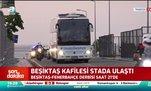 Trabzonspor kafilesi stadyuma ulaştı! | İşte o görüntüler