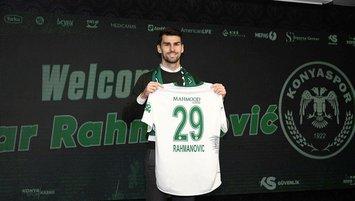 Rahmanovic Konyaspor'da! İşte sözleşme detayları