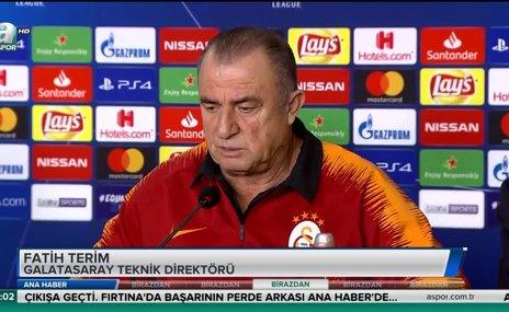 "Fatih Terim: ""Melo ve Sneijder'i çağırsak..."""