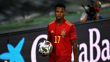17 yaşındaki Ansu Fati İspanya tarihine geçti!