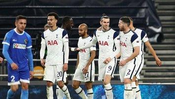 Tottenham tur biletini 4 golle aldı!