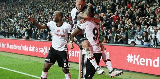 Beşiktaş Göztepe'yi 5-1 mağlup etti