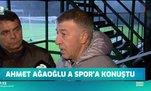 Başkan Ahmet Ağaoğlu A Spor'a konuştu