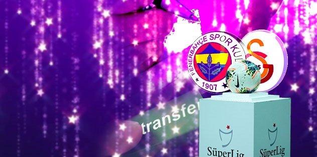 Süper Lig'e yıldız yağmuru! Fenerbahçe, Galatasaray ve transfer...