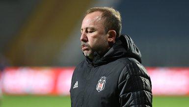 """Son dakika spor haberleri: Beşiktaş Teknik Direktörü Sergen Yalçın'dan Cenk Tosun açıklaması! """"Durumu ciddi"""""""
