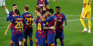 barcelona 3 1 napoli mac sonucu 1596920299573 - Şampiyonlar Ligi'nde çeyrek final eşleşmeleri belli oldu!