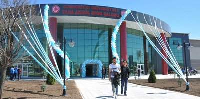 Taha Akgül'ün adı spor salonuna verildi