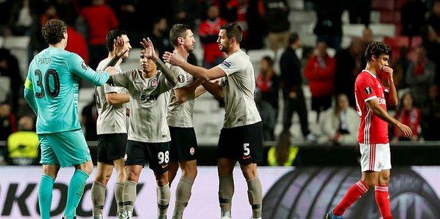 Benfica 3-3 Shakhtar Donetsk | MAÇ SONUCU