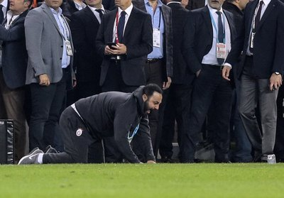 Hasan Şaş kulübede takla attı