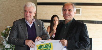 Efkan Ala'dan Bursaspor'a ziyaret