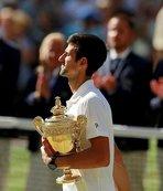 Wimbledon'da kazanan Novak Djokovic