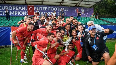Son dakika spor haberi: Ampute Milli Futbol Takımı'mız Avrupa Şampiyonası'nda yarı finalde!