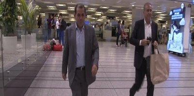 Dursun Özbek İstanbul'a döndü
