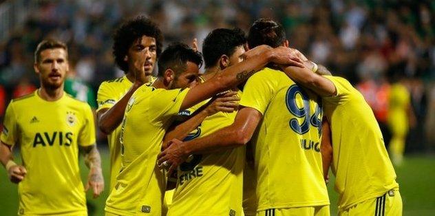 Denizlispor 1-2 Fenerbahçe | MAÇ SONUCU