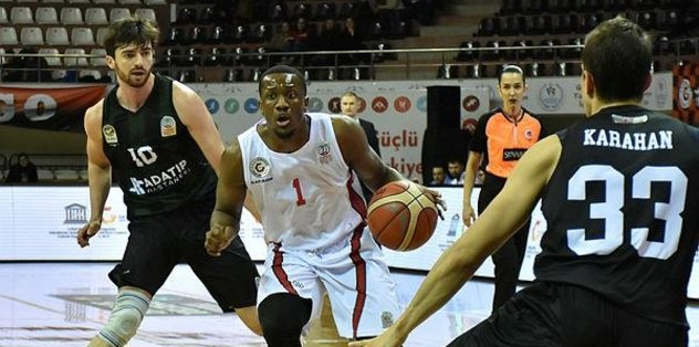Gaziantep Basketbol'dan rahat galibiyet