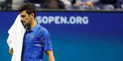 Djokovic'ten ABD Açık'a veda