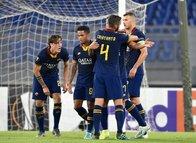 Roma - Başakşehir maçından kareler...