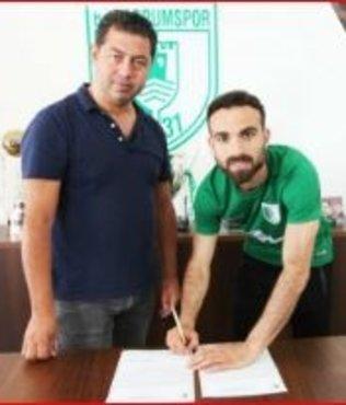 Bodrumspor Ahmet Han'la imzaladı