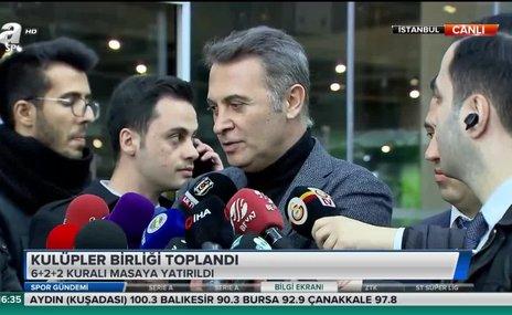 Kulüpler Birliği Başkanı Fikret Orman'dan flaş yabancı kuralı açıklaması!