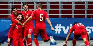 Ümit Milli Futbol Takımı Fransa ile karşılaşacak