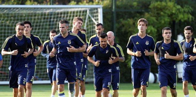 Fenerbahçe'de Göztepe maçı hazırlıkları