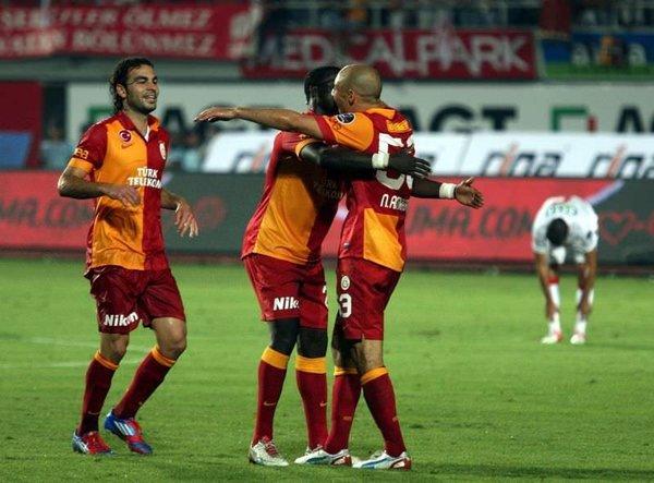 Antalyaspor - Galatasaray (Spor Toto Süper Lig 4. Hafta Maçı)
