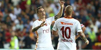 Sneijder Gaziantepspor'u yaktı!