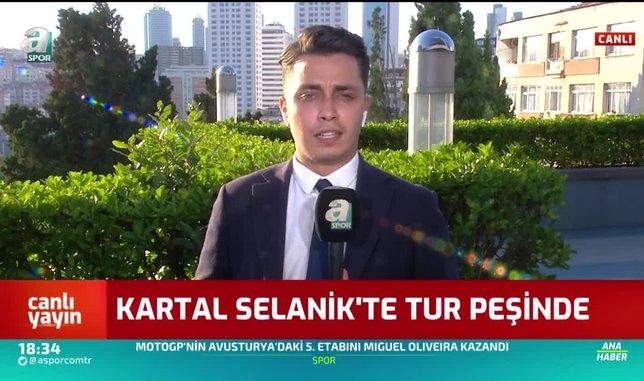 besiktas selanikte tur pesinde 1598284878532 - PAOK Beşiktaş maçı ne zaman, saat kaçta ve hangi kanalda canlı yayınlanacak?   İLK 11'LER