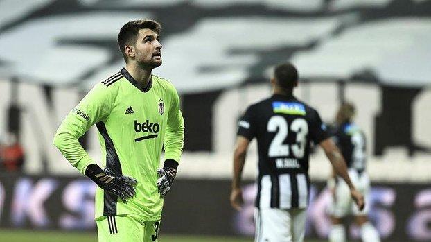 Beşiktaş Adana Demirspor maçında Ersin Destanoğlu ilk golünü frikikten yedi! Barajı özenle kurdu ama...